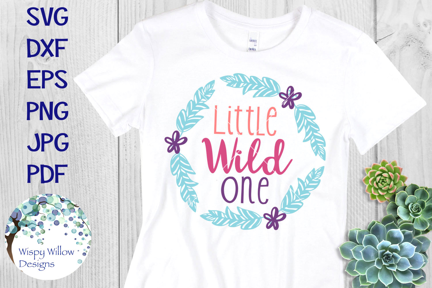 Boho SVG Bundle | Wild Spirit, Wild Child, Wild at Heart example image 4