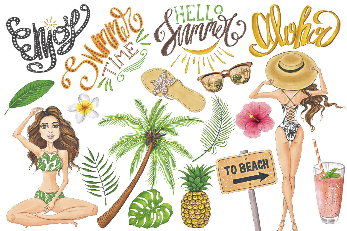 Summer Time Hand-painted Collection example image 2