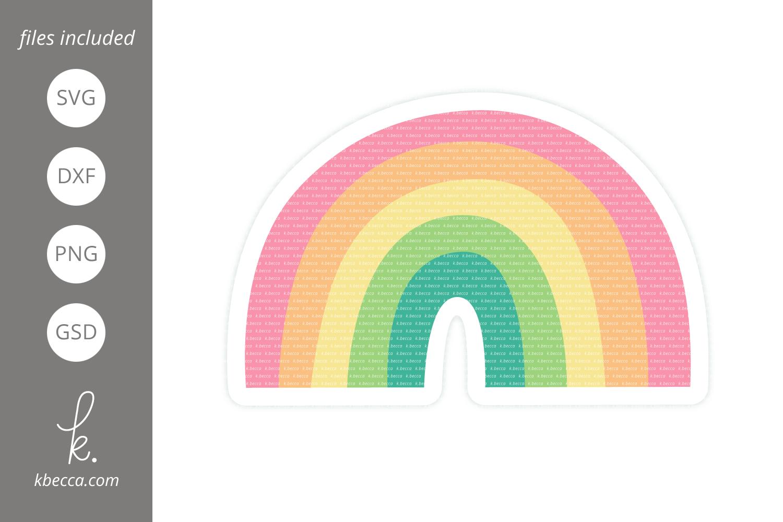 Rainbow Cut Files example image 1