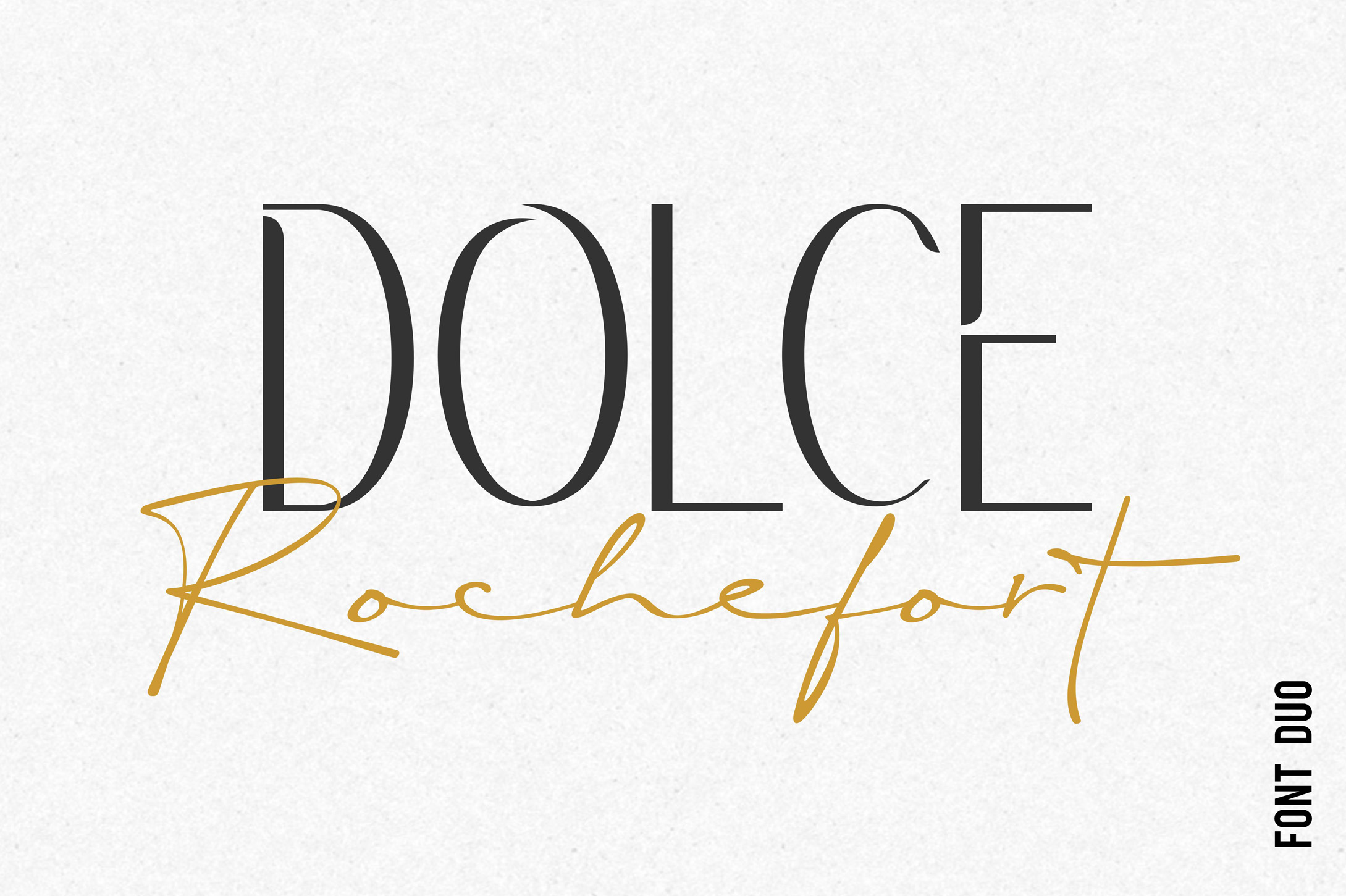Rochefort | Luxury Signature Font Duo example image 1