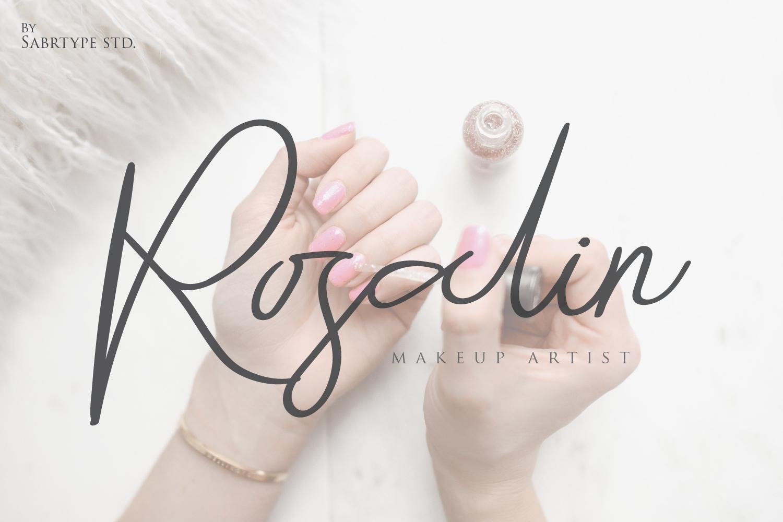 Raliangi Font example image 5