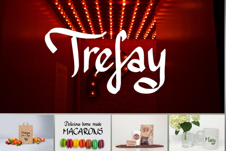 Trefay Font example image 4