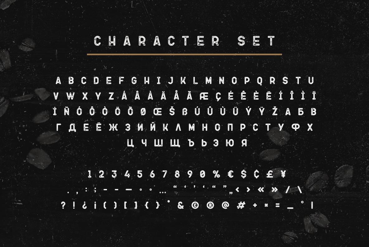 Ovsyanka Typeface example image 4