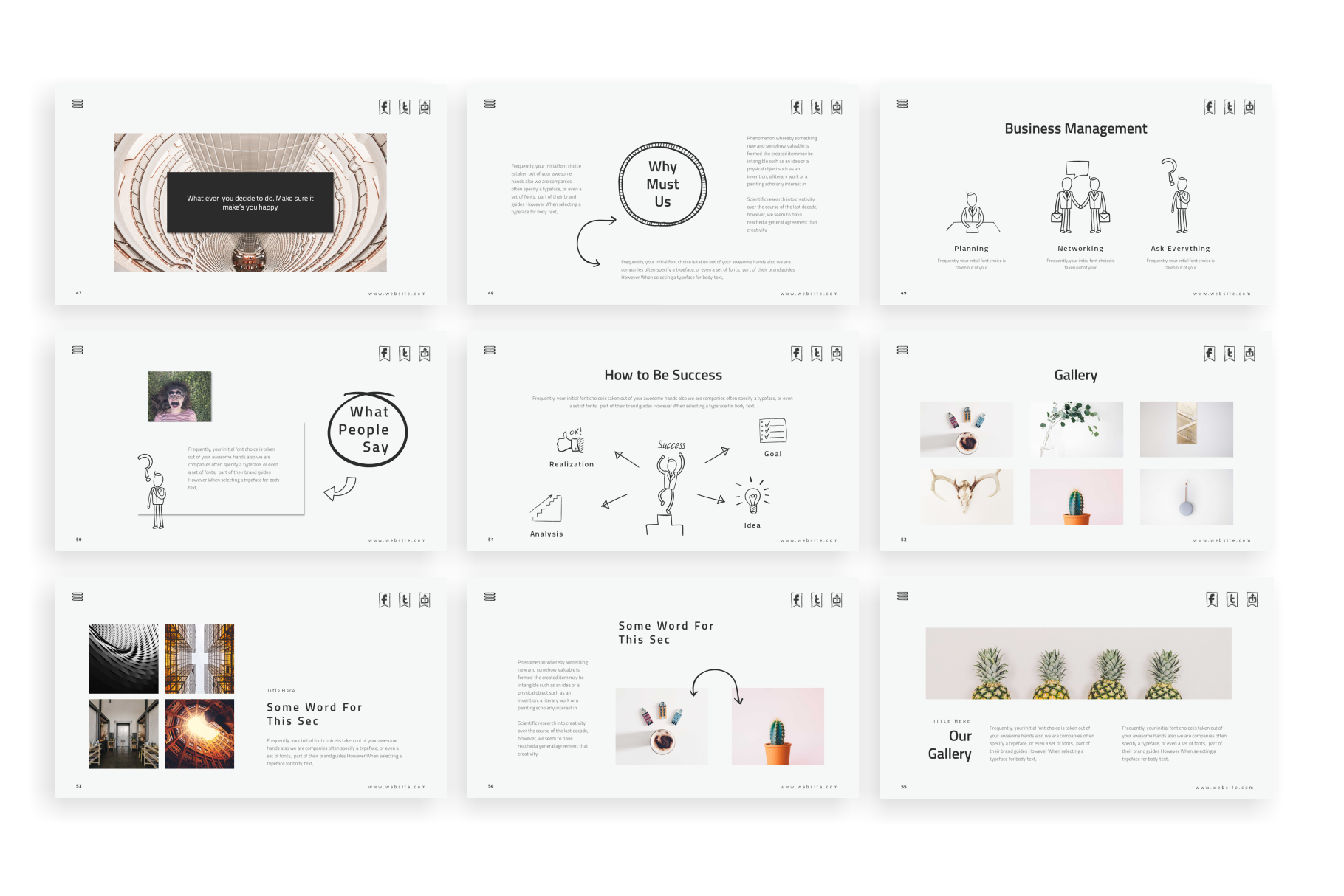 Doodles PowerPoint Template example image 7