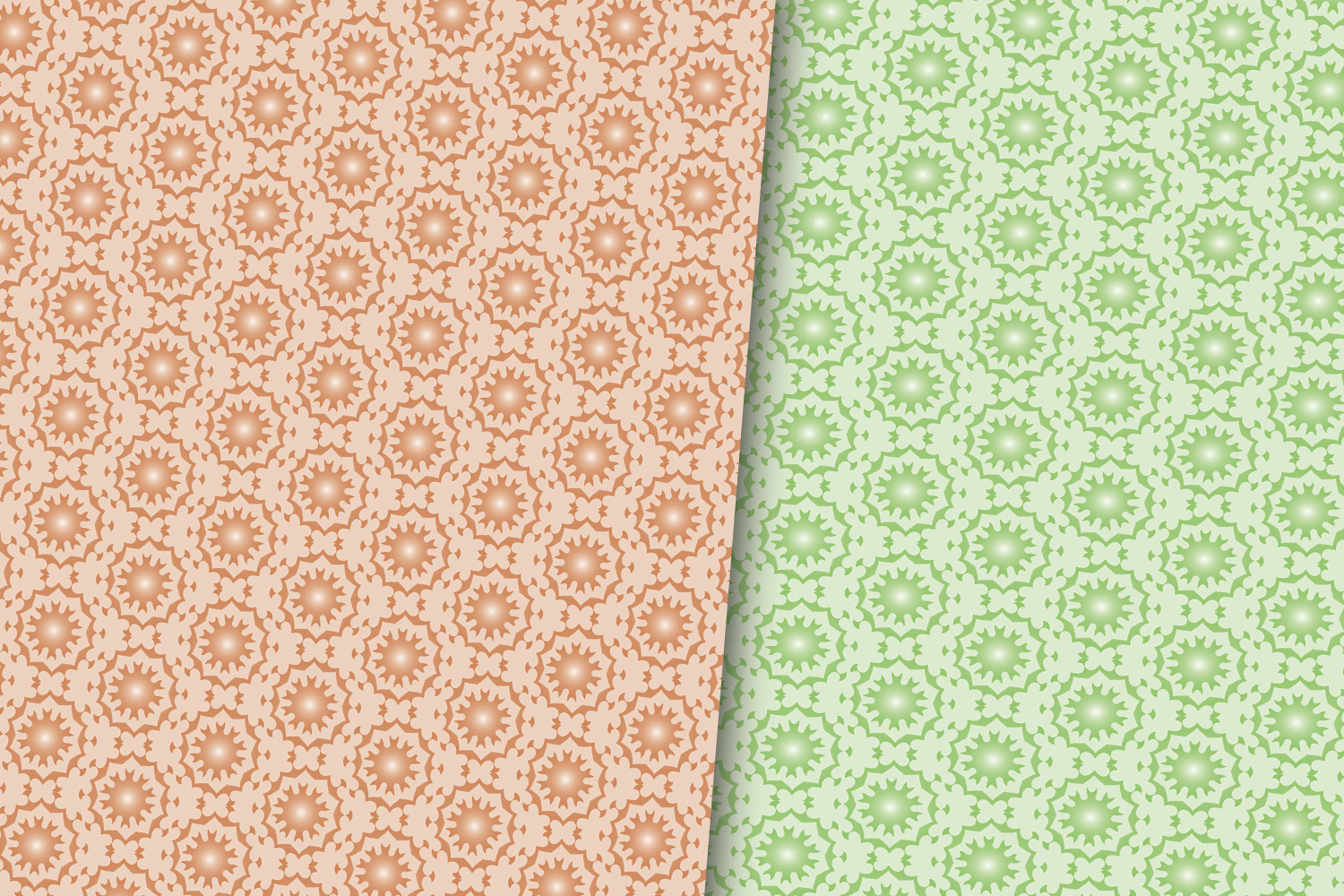 ARABIC PATTERN DIGITAL PAPERS example image 2