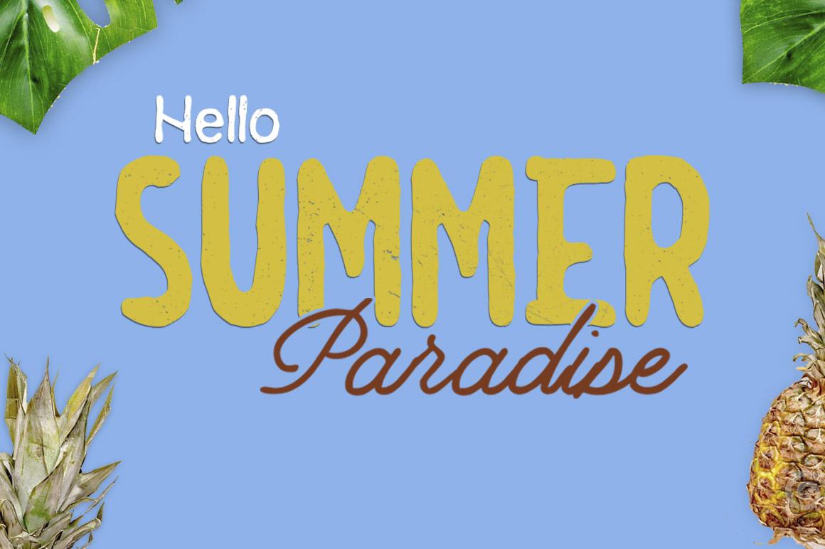 Summer  3 Font Bundles example image 8