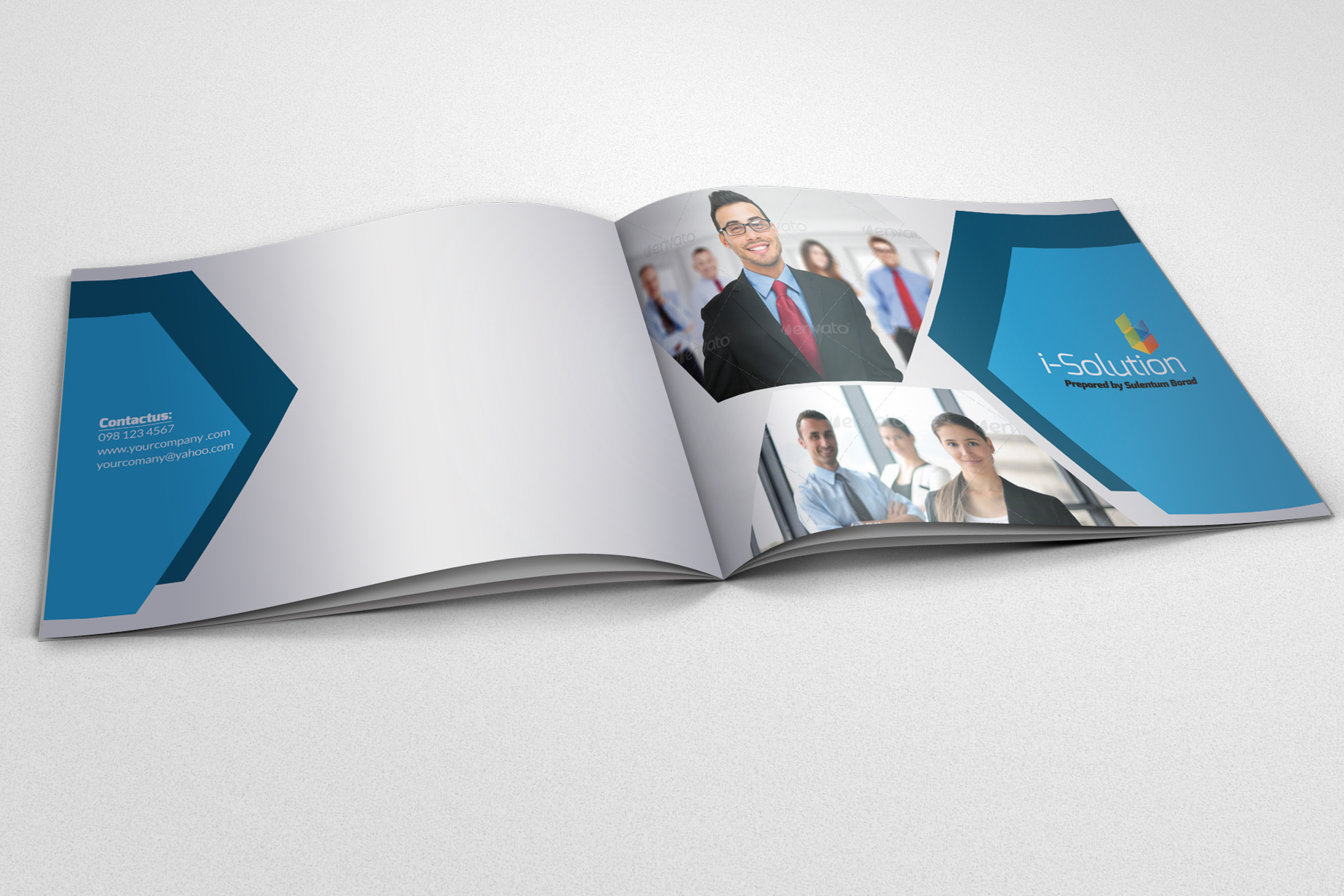 Business Corporate Bifold Brochure example image 1