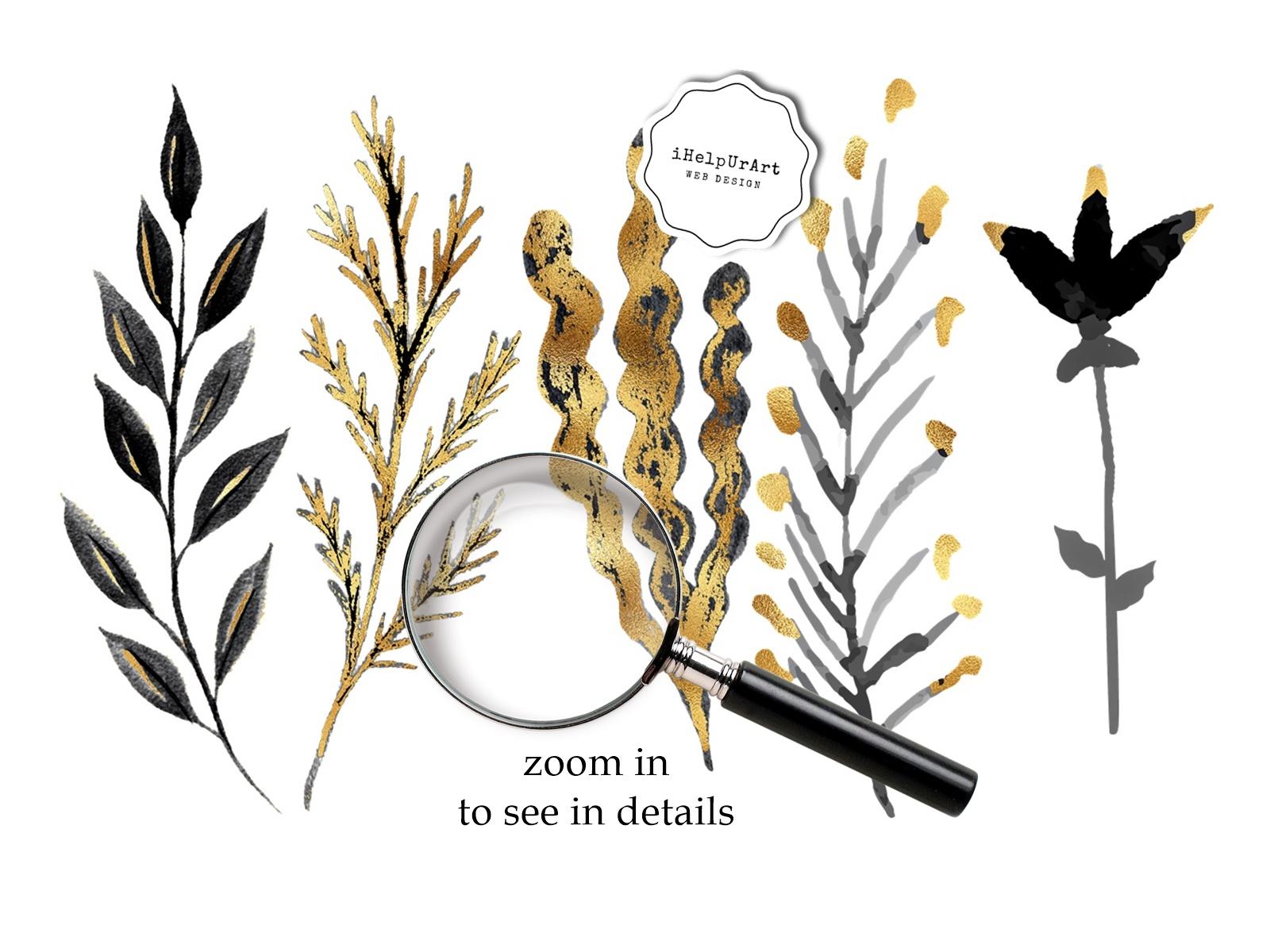 Herbarium Clipart example image 3