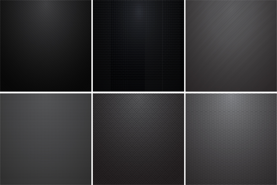 Collection of dark metal textures. example image 1