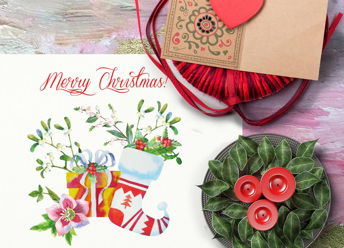 Christmas Socks and Boxes example image 7
