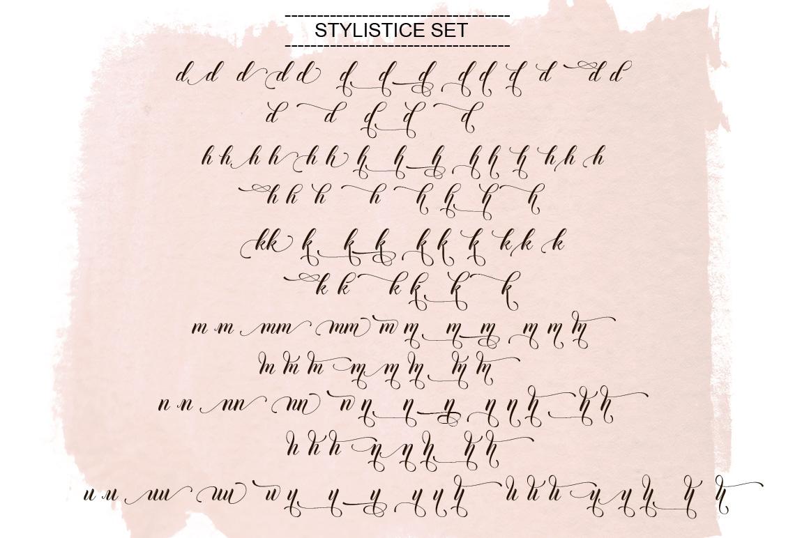Thirteenth Script example image 9