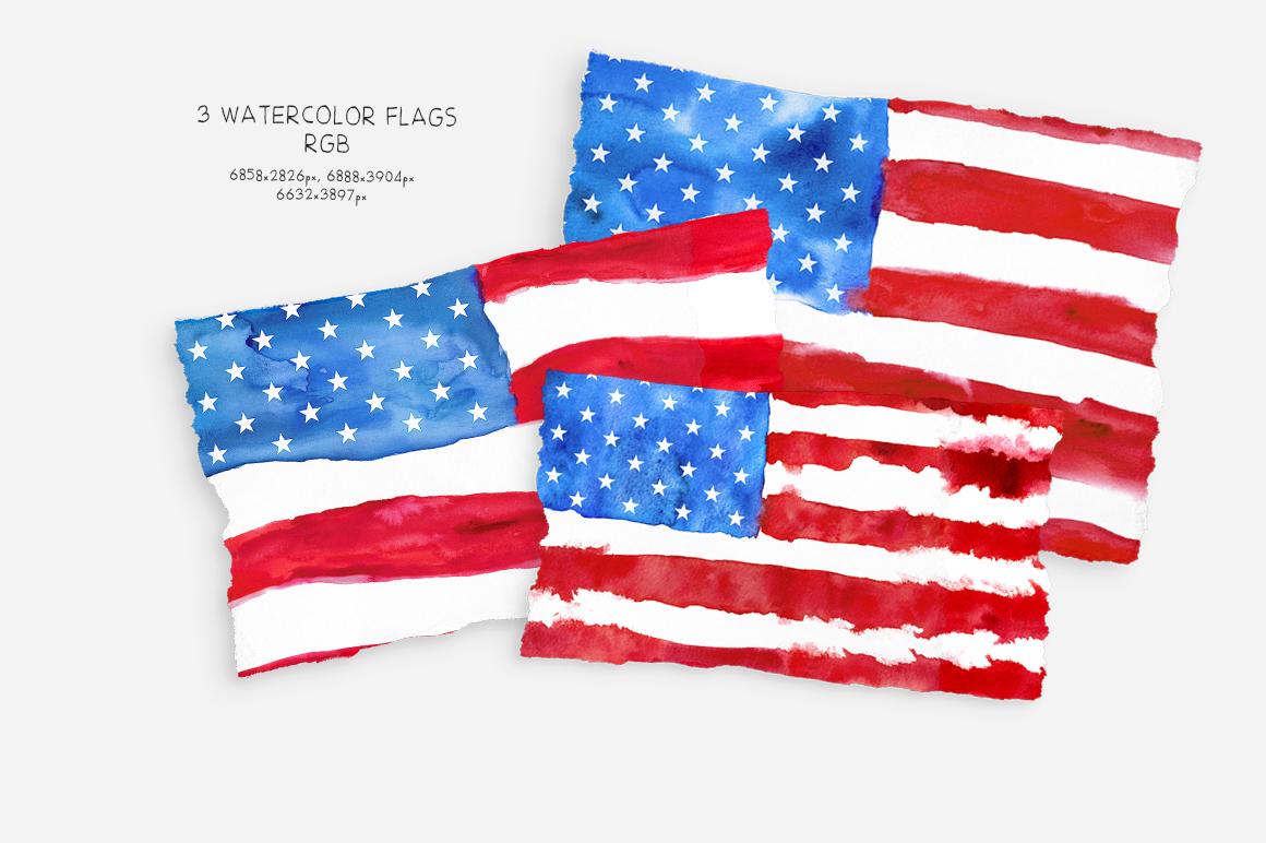 Patriotic USA. MINI Collection. example image 2