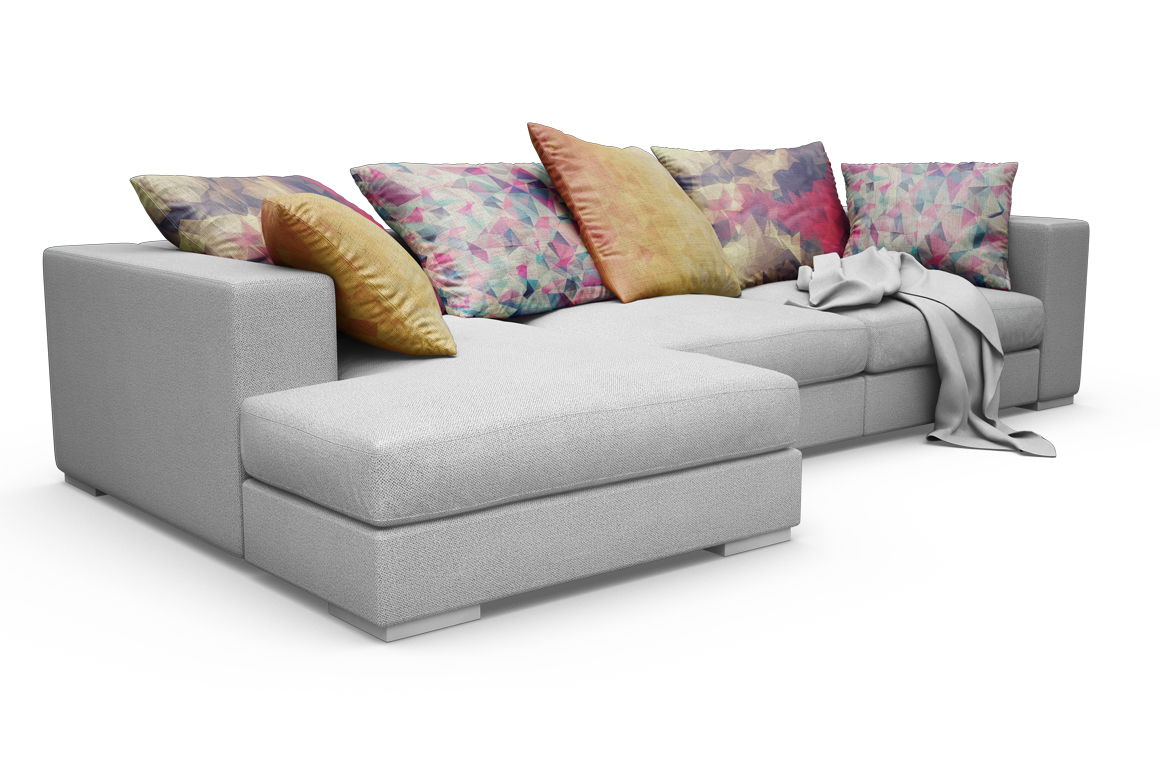 Sofa-Pillows Mockup example image 4
