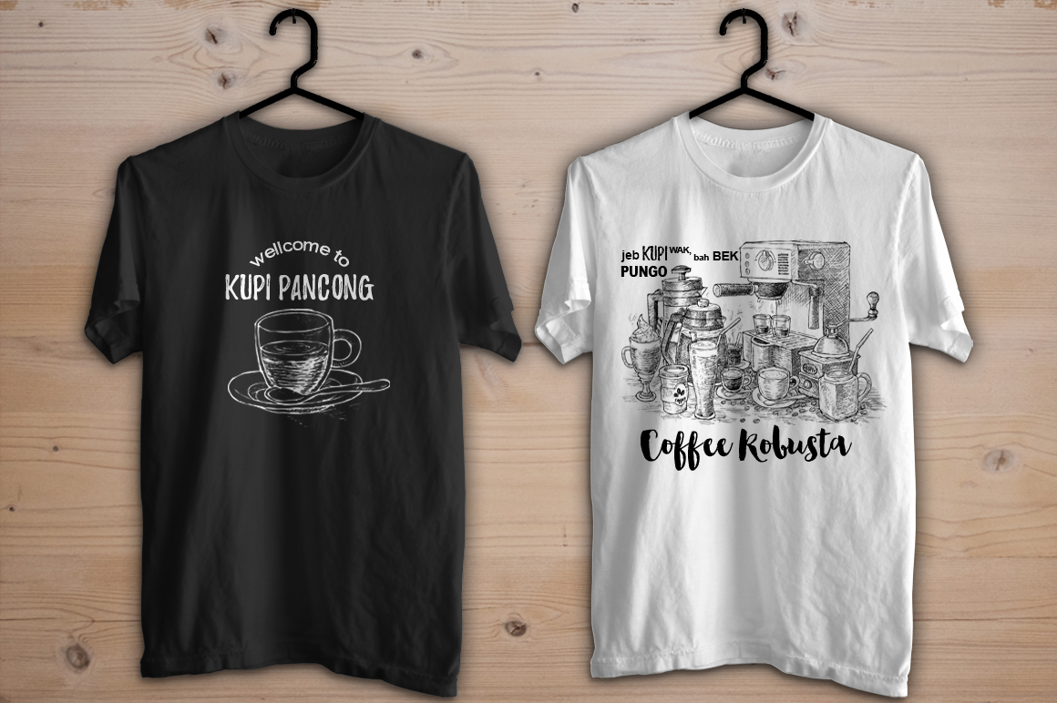 Watercolor Coffee Black Parleante example image 7