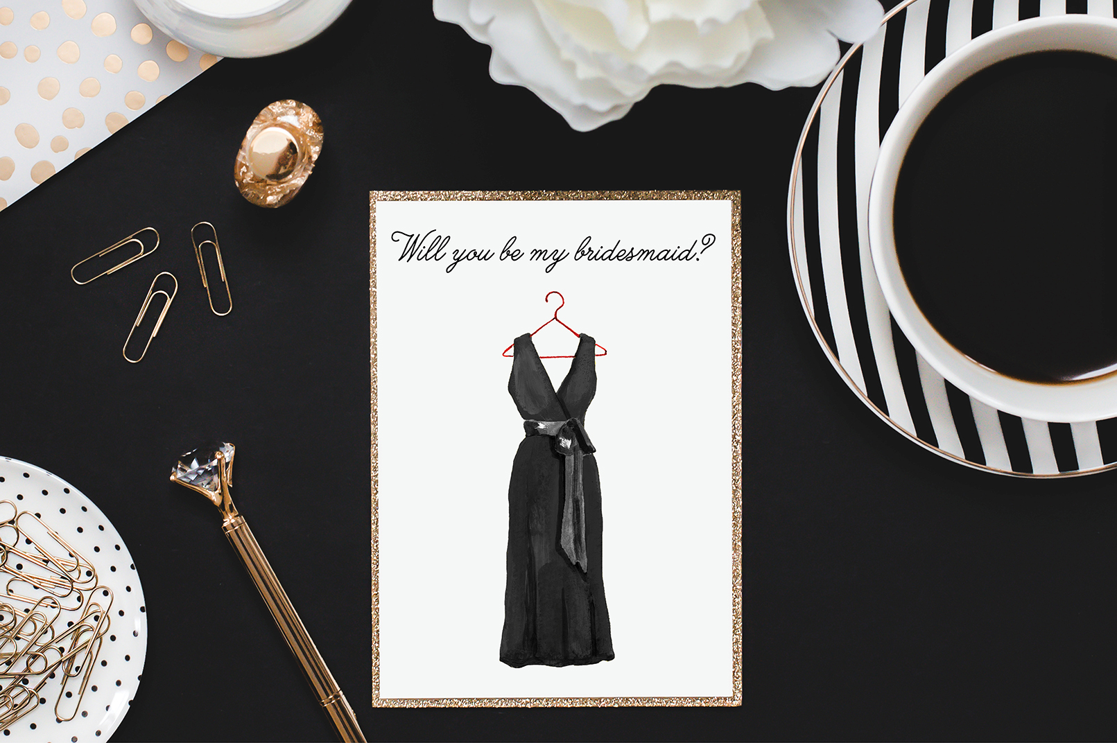 Bridesmaid Dress Illustrations example image 2