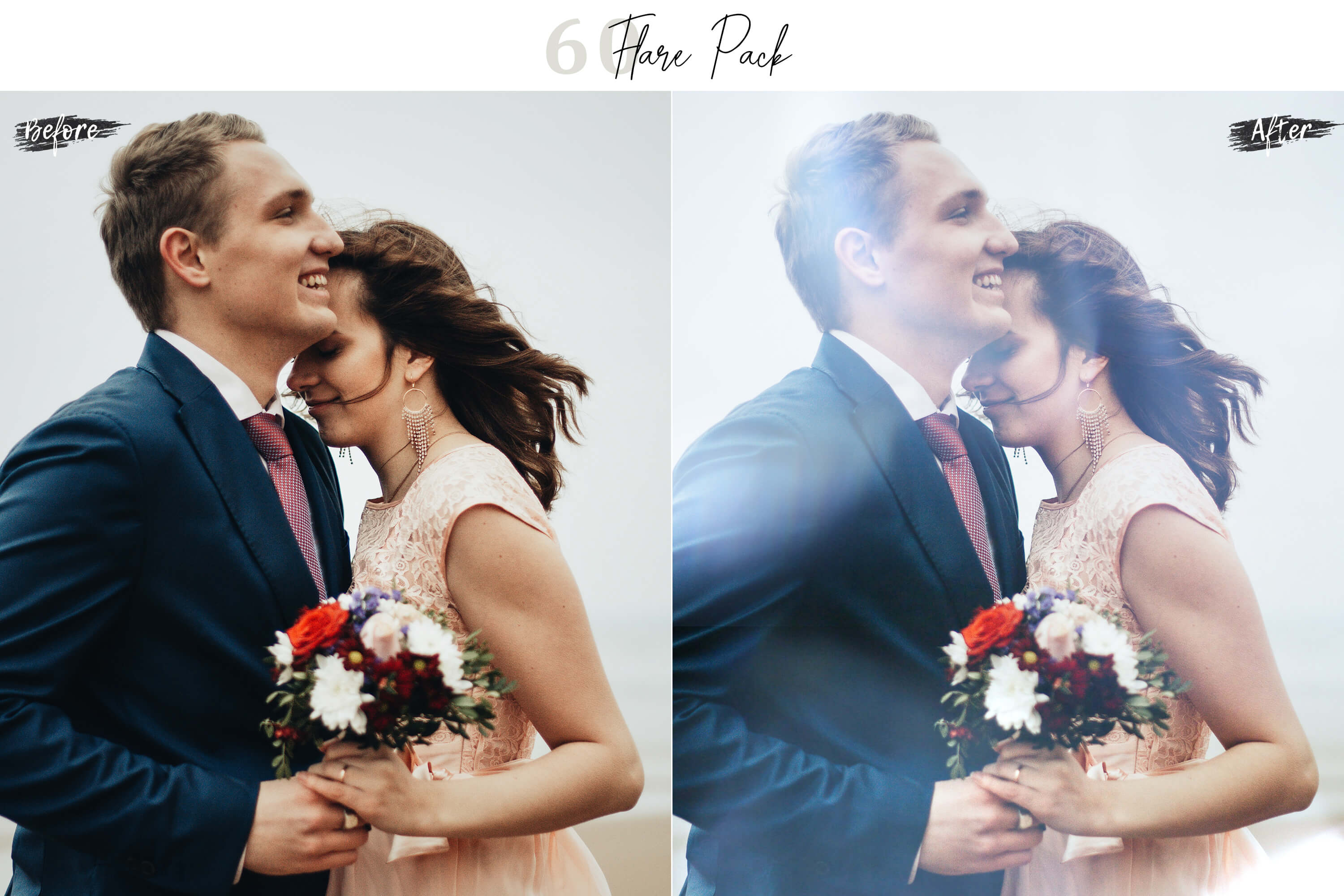 60 Flare Pack 02 lights Effect Photo Overlays example image 3