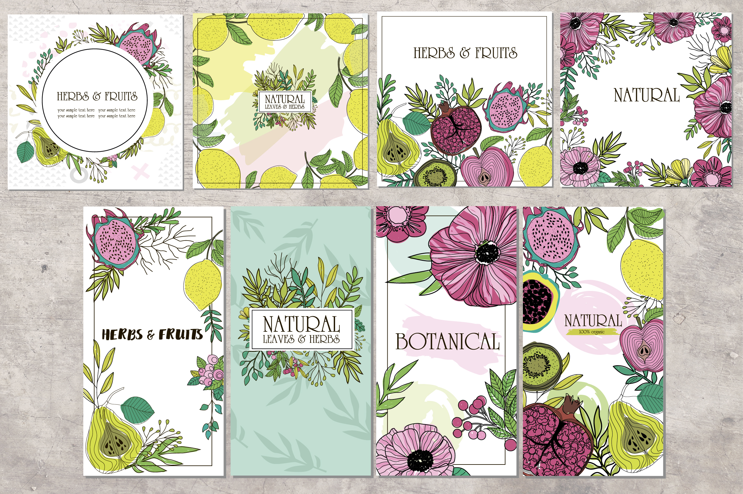 Botanical logos & illustrations example image 4