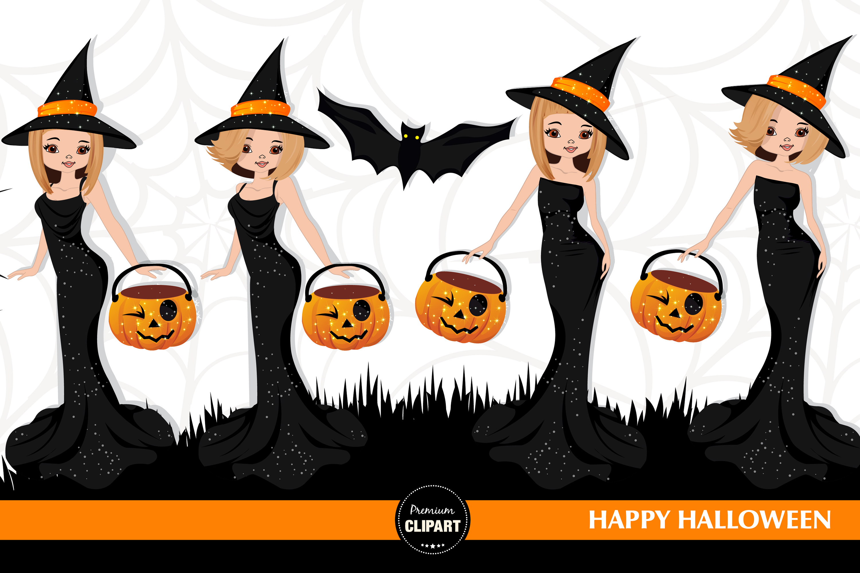 Halloween witch, Halloween illustrations, Halloween pumpkin example image 3