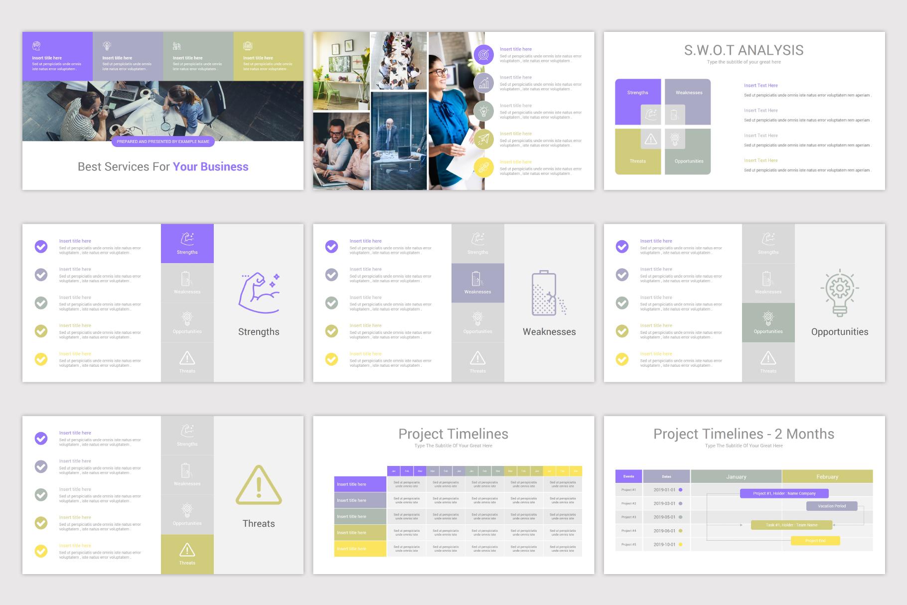 Company Profile Keynote Template example image 10