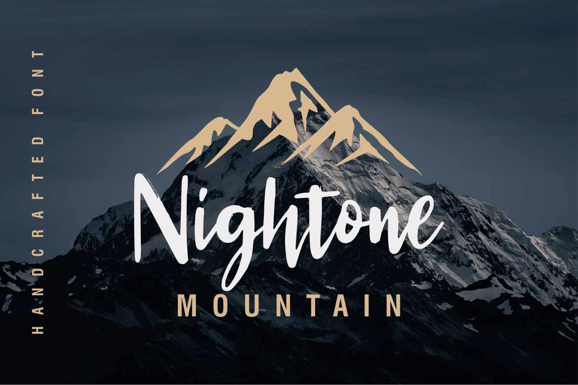 Kingtone // Handcrafted Script Font example image 5