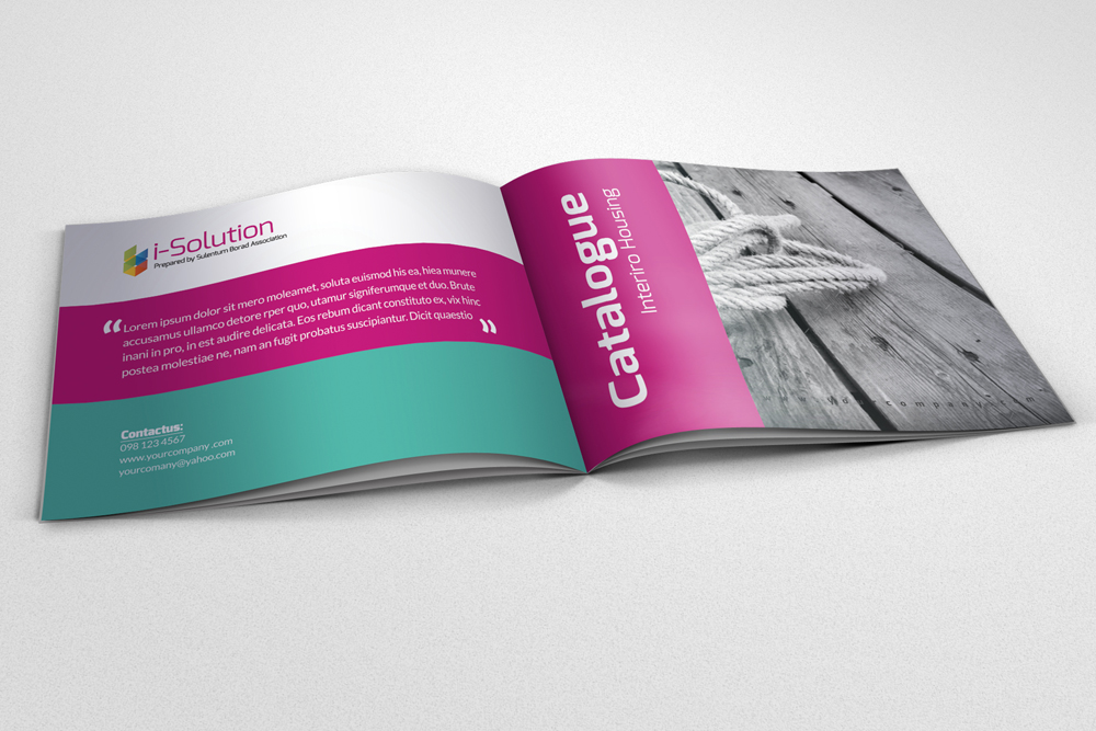 20 Pages Multi Use Minimal Square Brochure example image 4