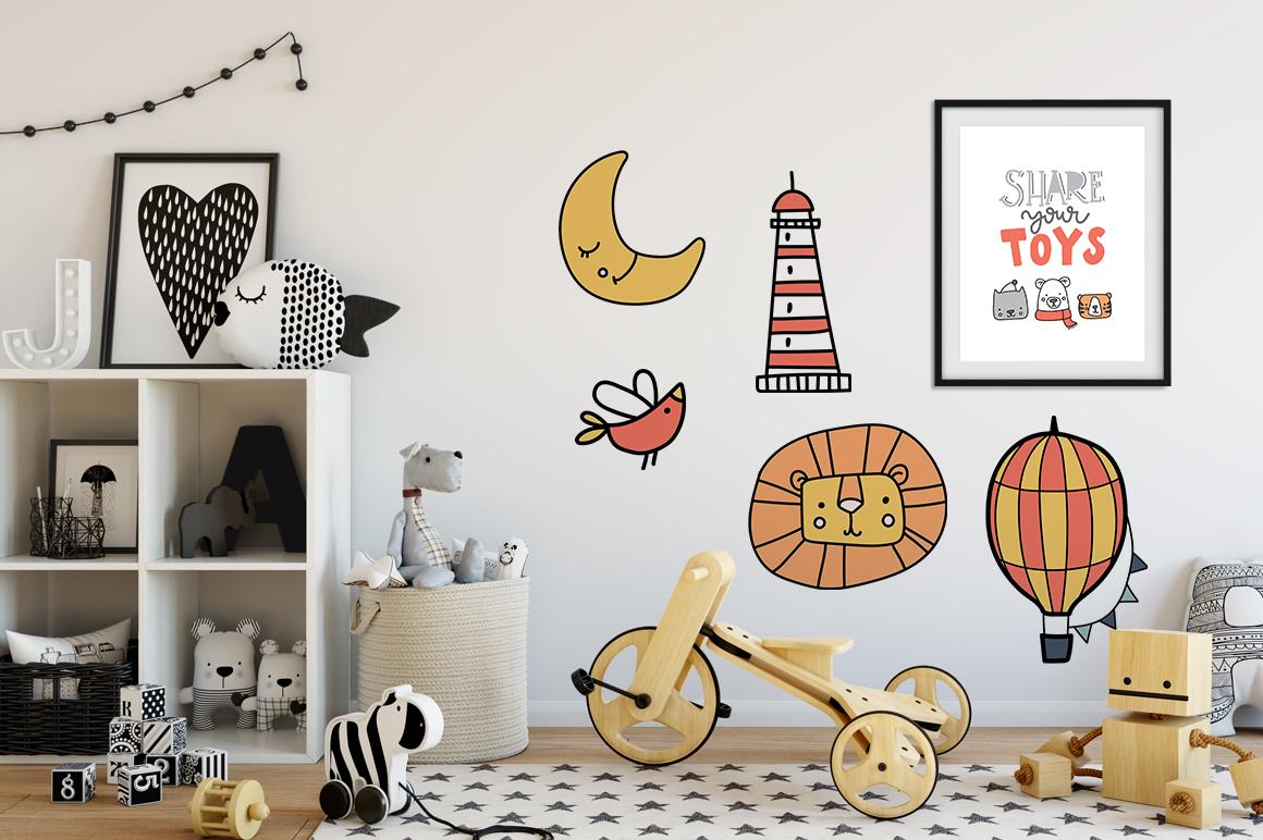 Kids room - scandinavian design pack example image 4