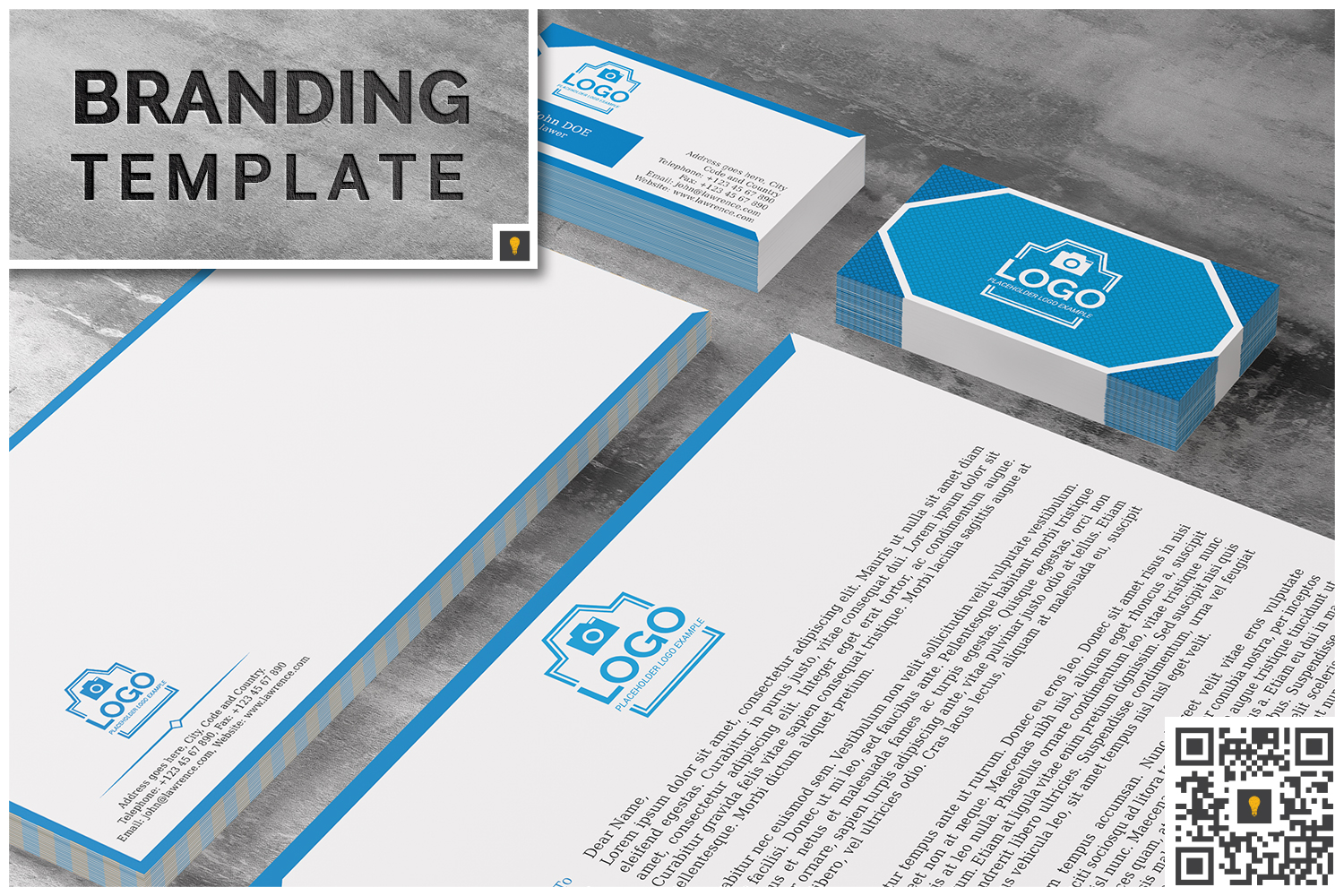 Law Firm Branding Bundle (50% OFF) example image 2