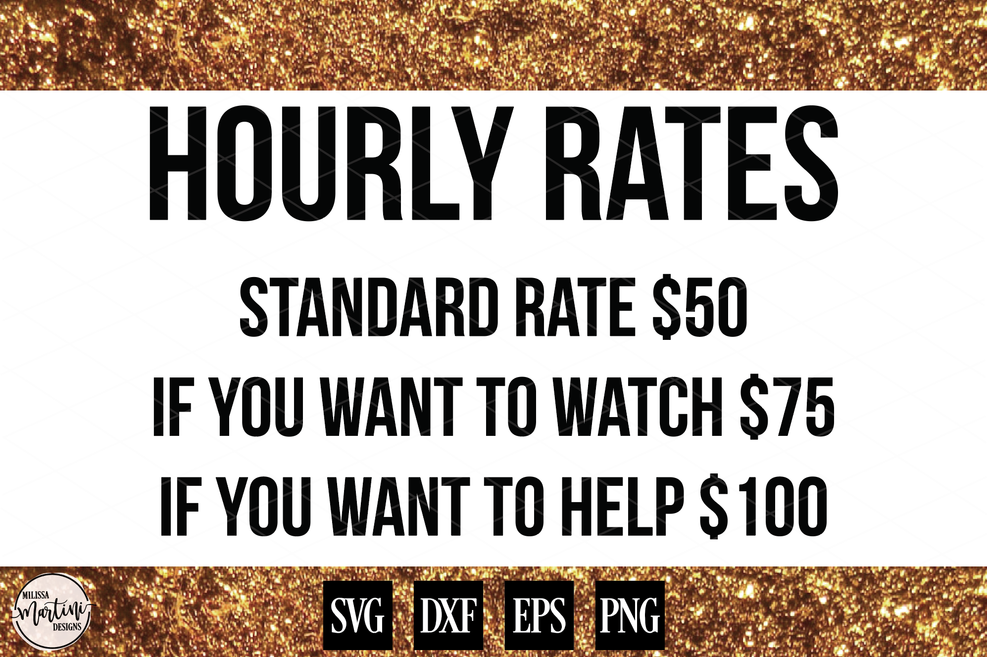 Hourly Rates Mechanic Sign Shirt Decal example image 1