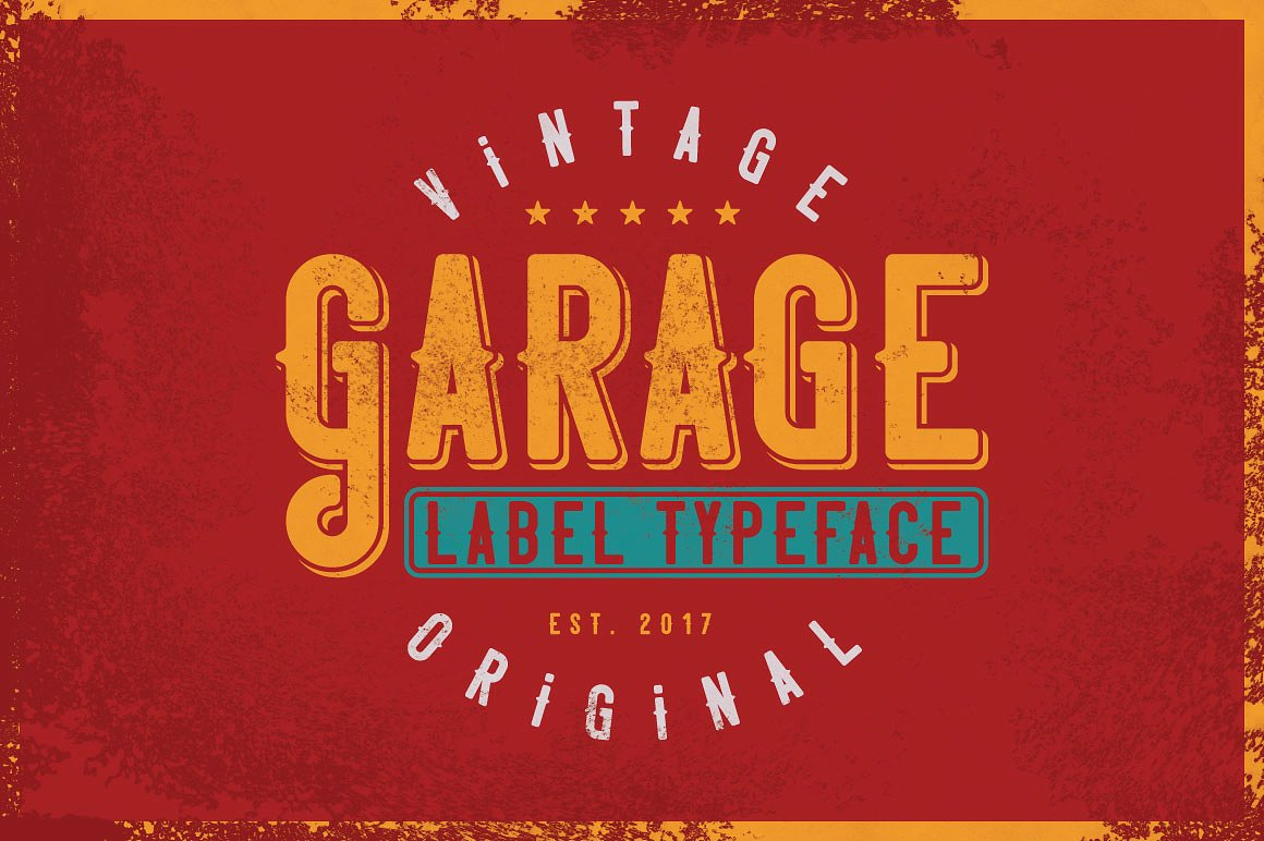 Vintage Fonts Bundle example image 7