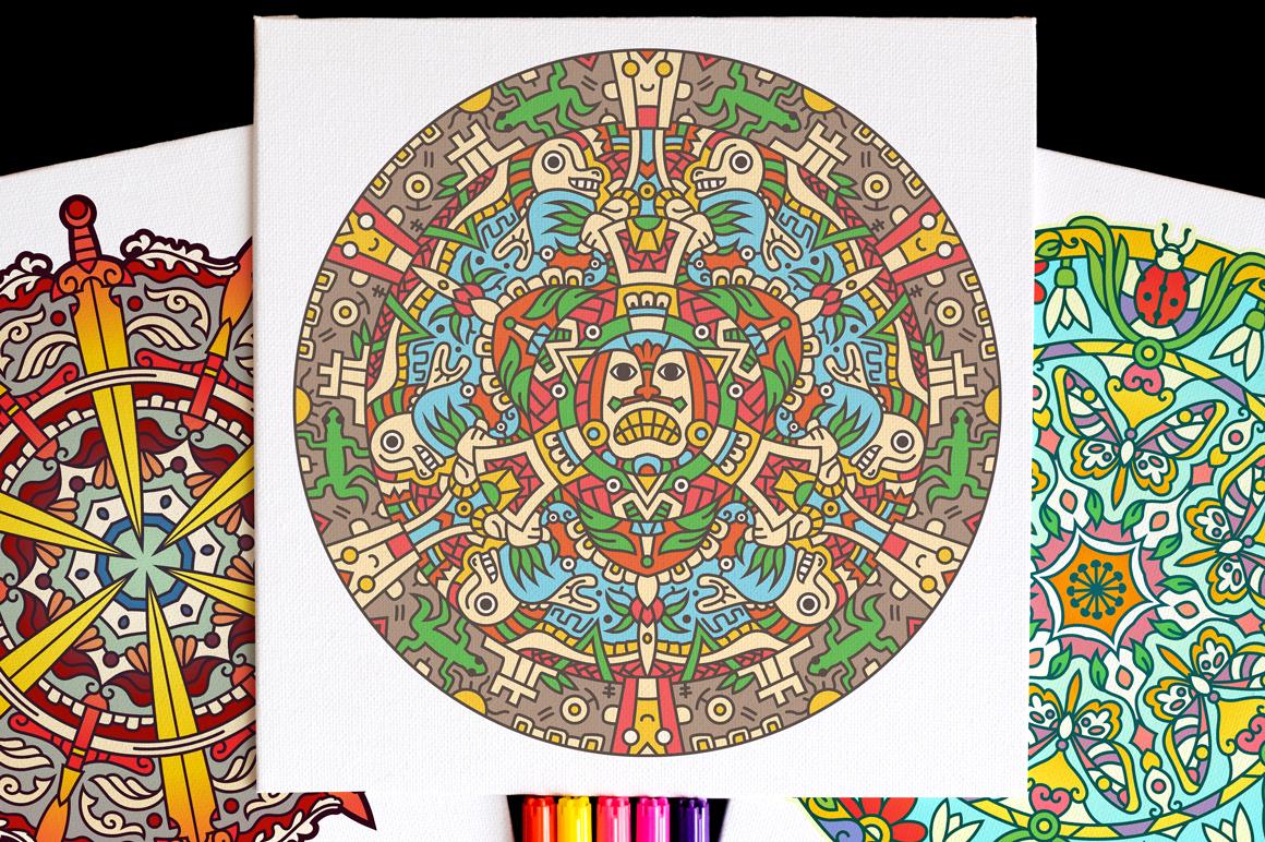 Seasonal and Holiday Mandalas example image 10