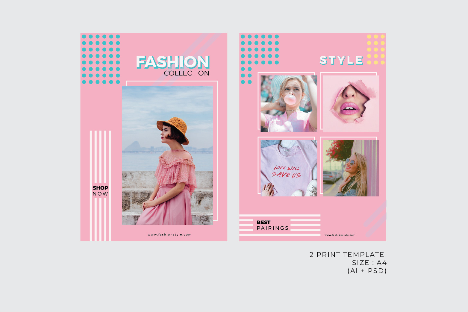 Fashion Template - 2 Poster & 5 InstaStories example image 3