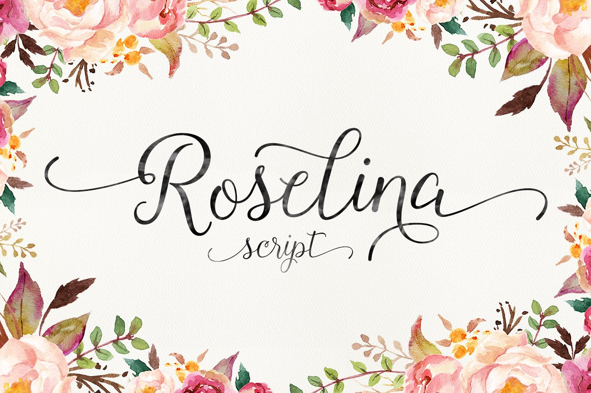 Roselina Script example image 1
