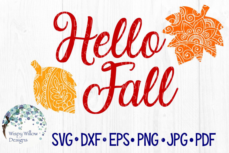 Fall Bundle, Pumpkins, Zentangle, Mandala, SVG Cut Files example image 5