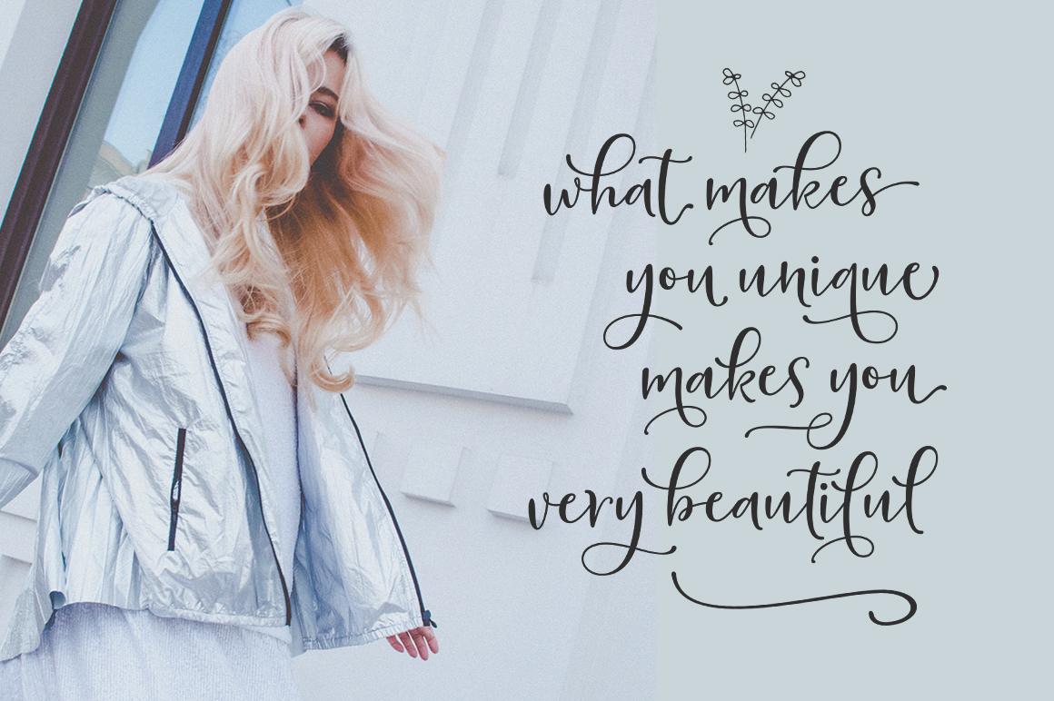 Sherilyn Script FONT DUO example image 4