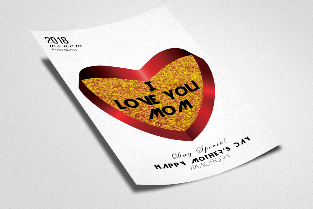 Happy Mothers Day Flyer Template example image 2