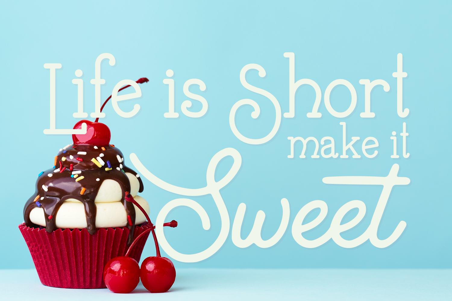 Buttercream Dream - A fancy font duo example image 3