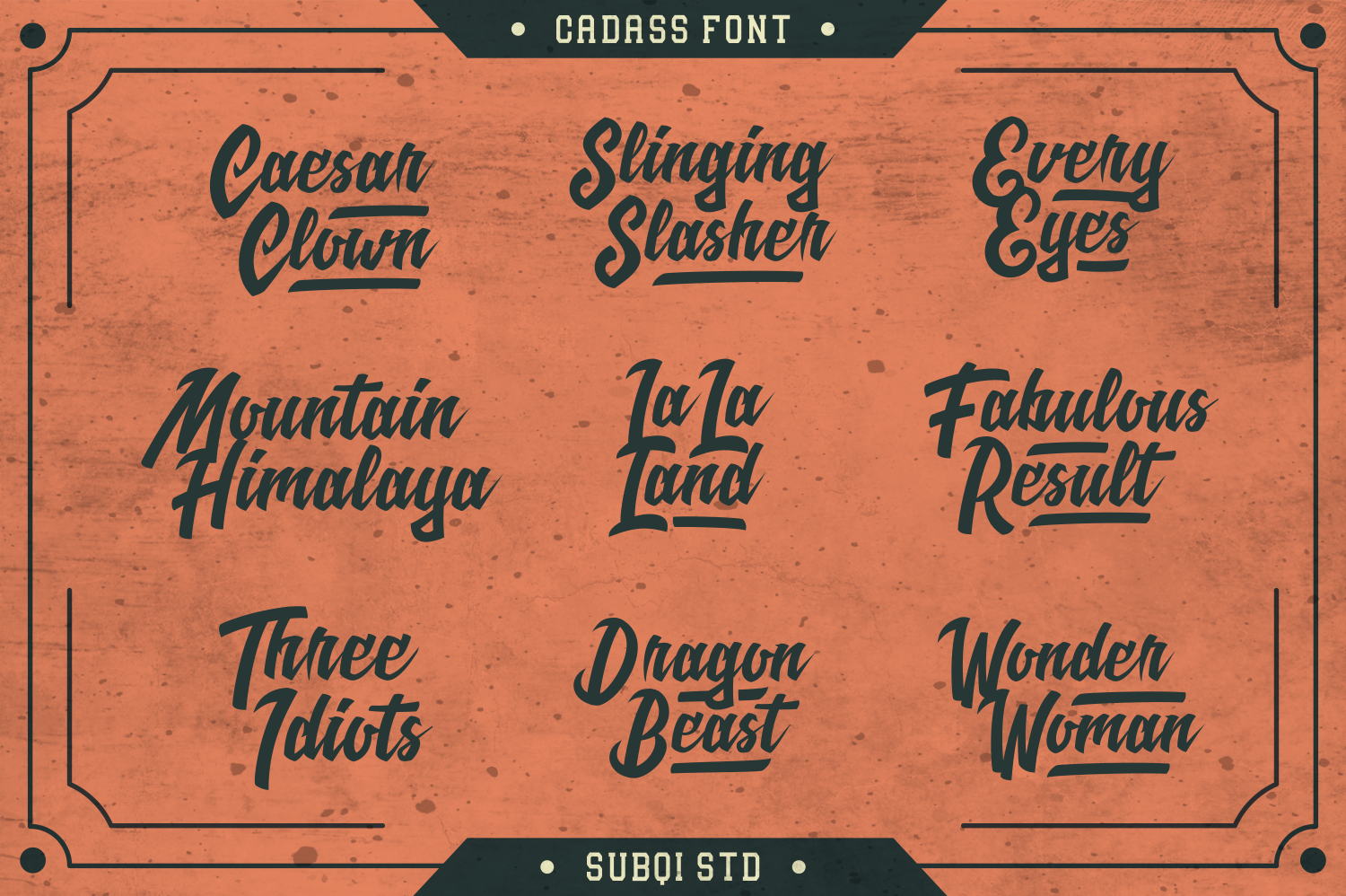 Cadass Font Duo 70% OFF example image 5