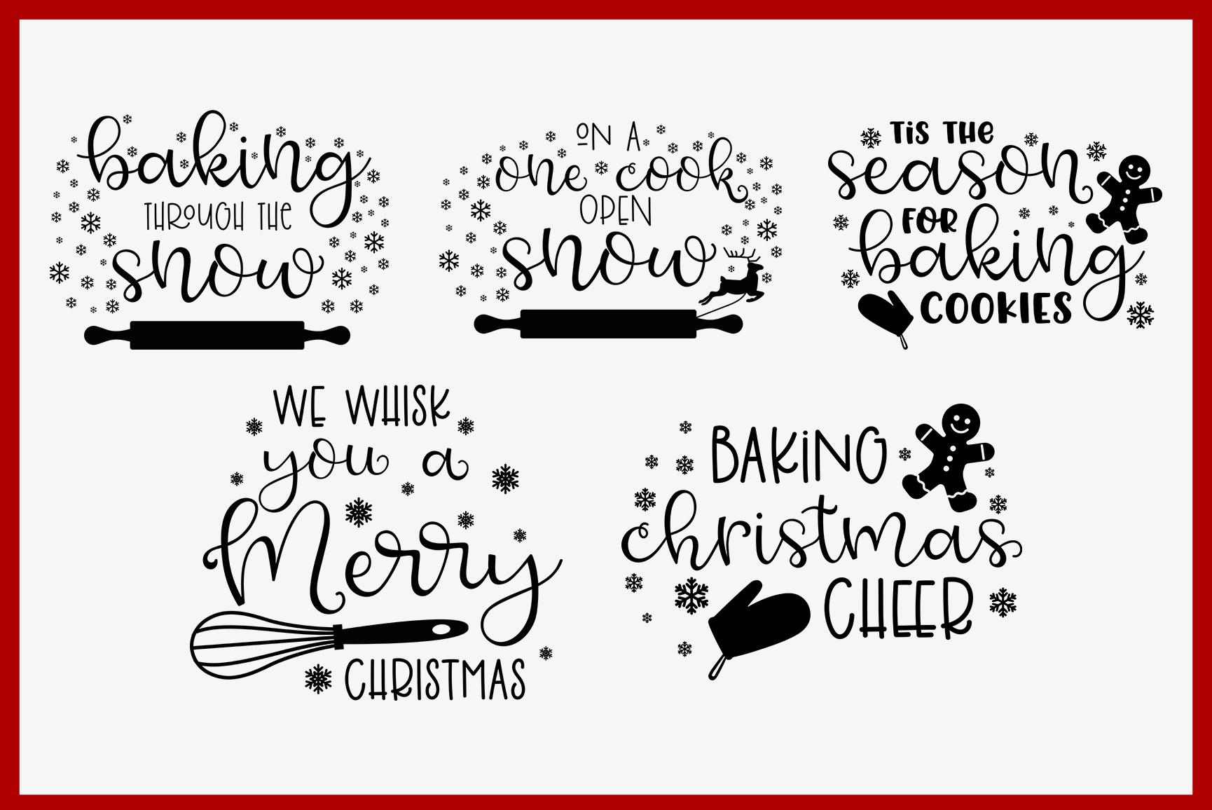 Christmas Pot Holder Bundle SVG - Vol.1 example image 2
