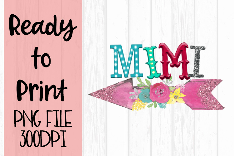Mimi Funky Arrow Ready to Print example image 1