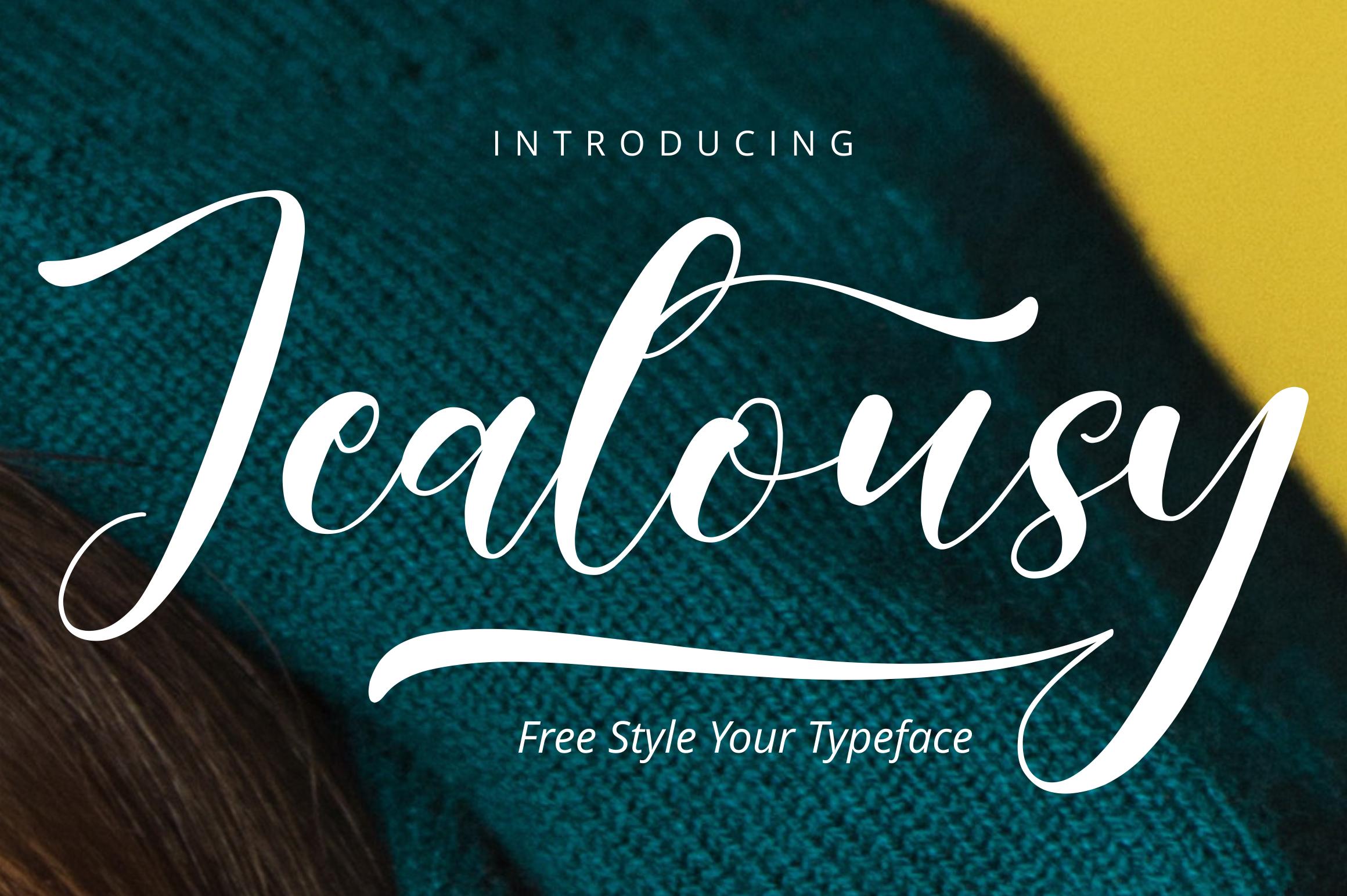 Jealousy | Handwritten Typeface example image 1