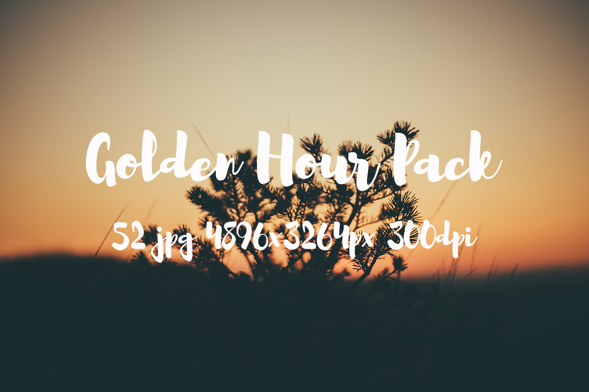 Golden hour Pack example image 10