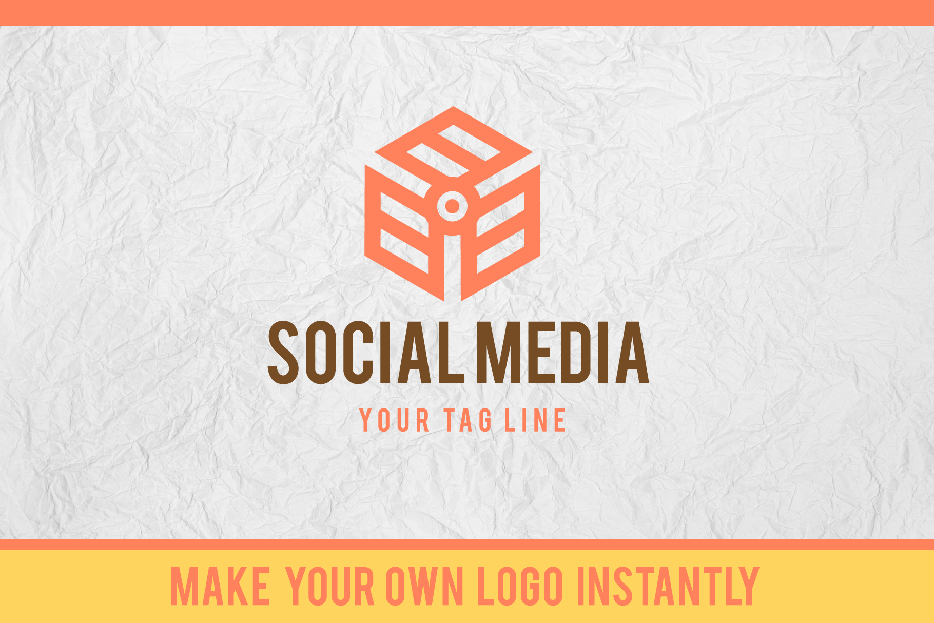 3D Isometric Logo Font example image 3