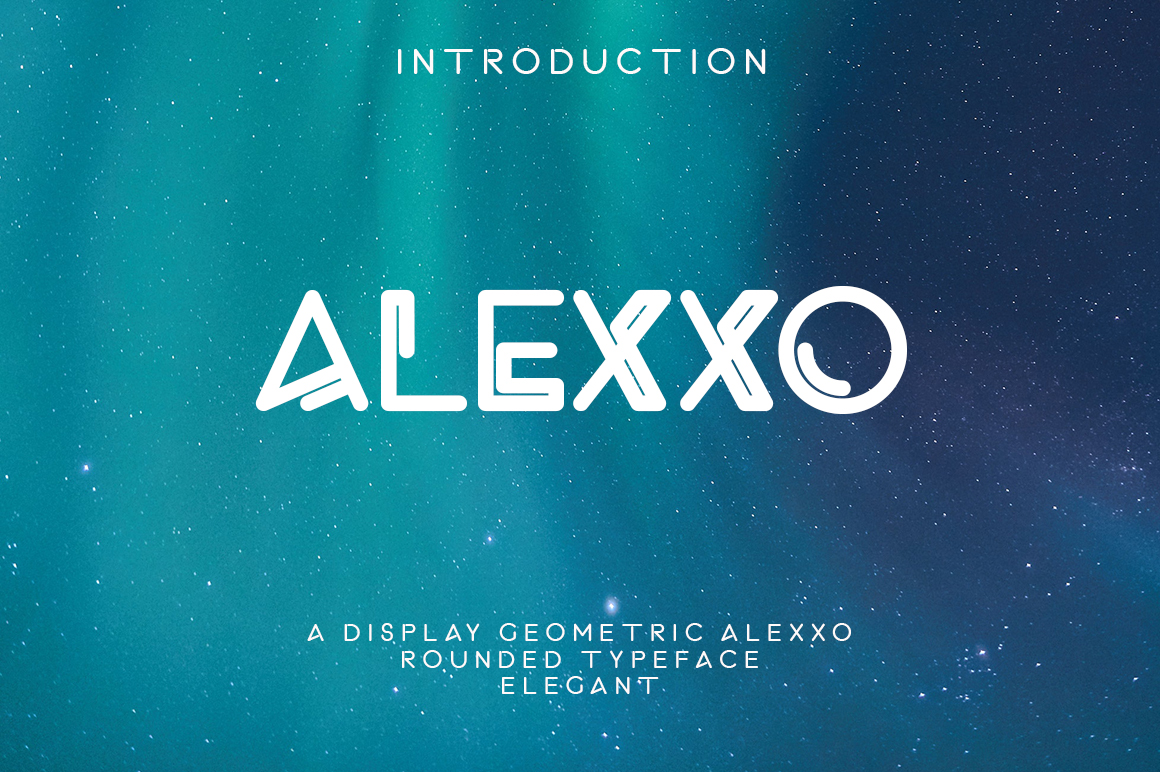 Alexxo Typeface - Font Duo example image 2