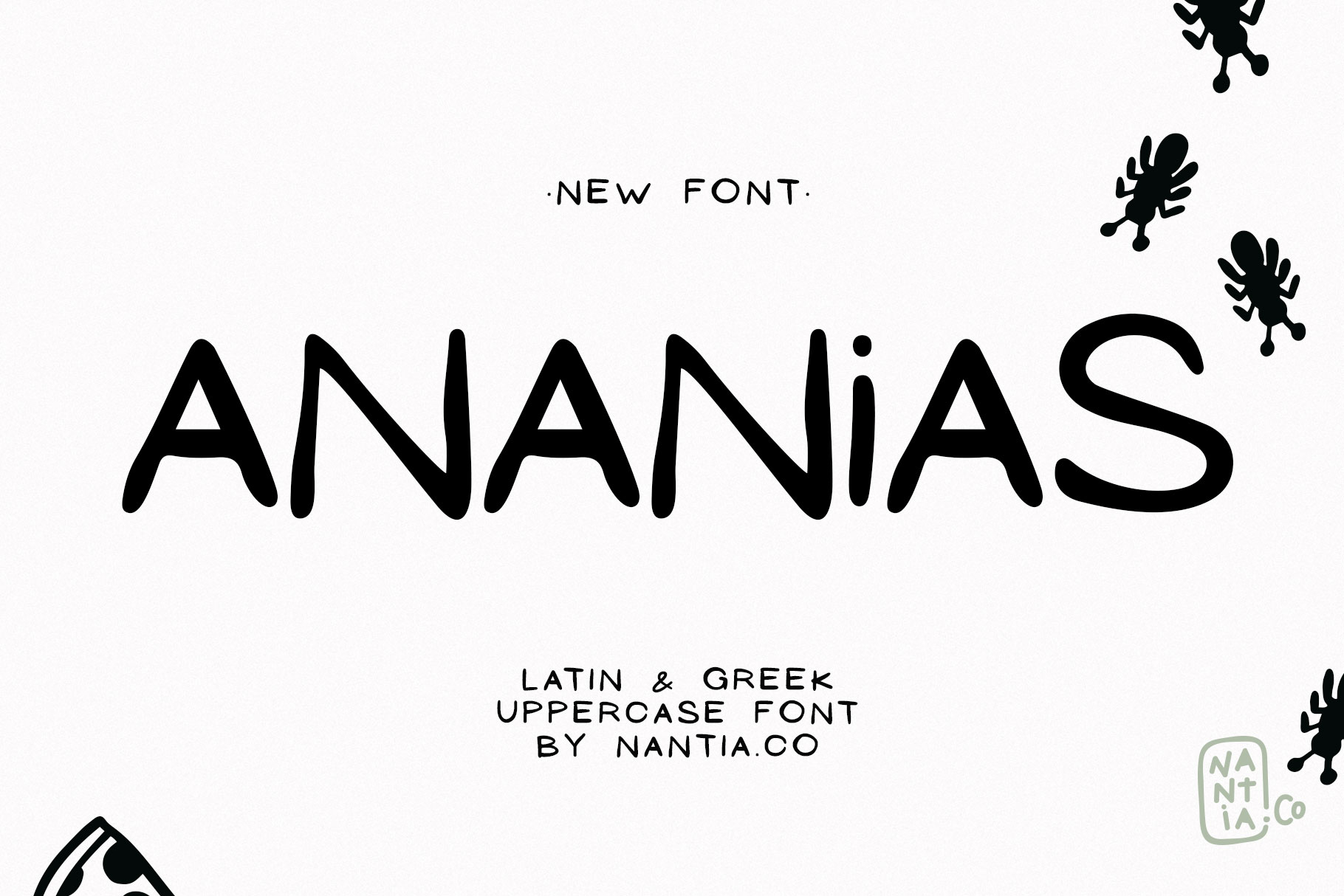 Ananias Doodle Font example image 7
