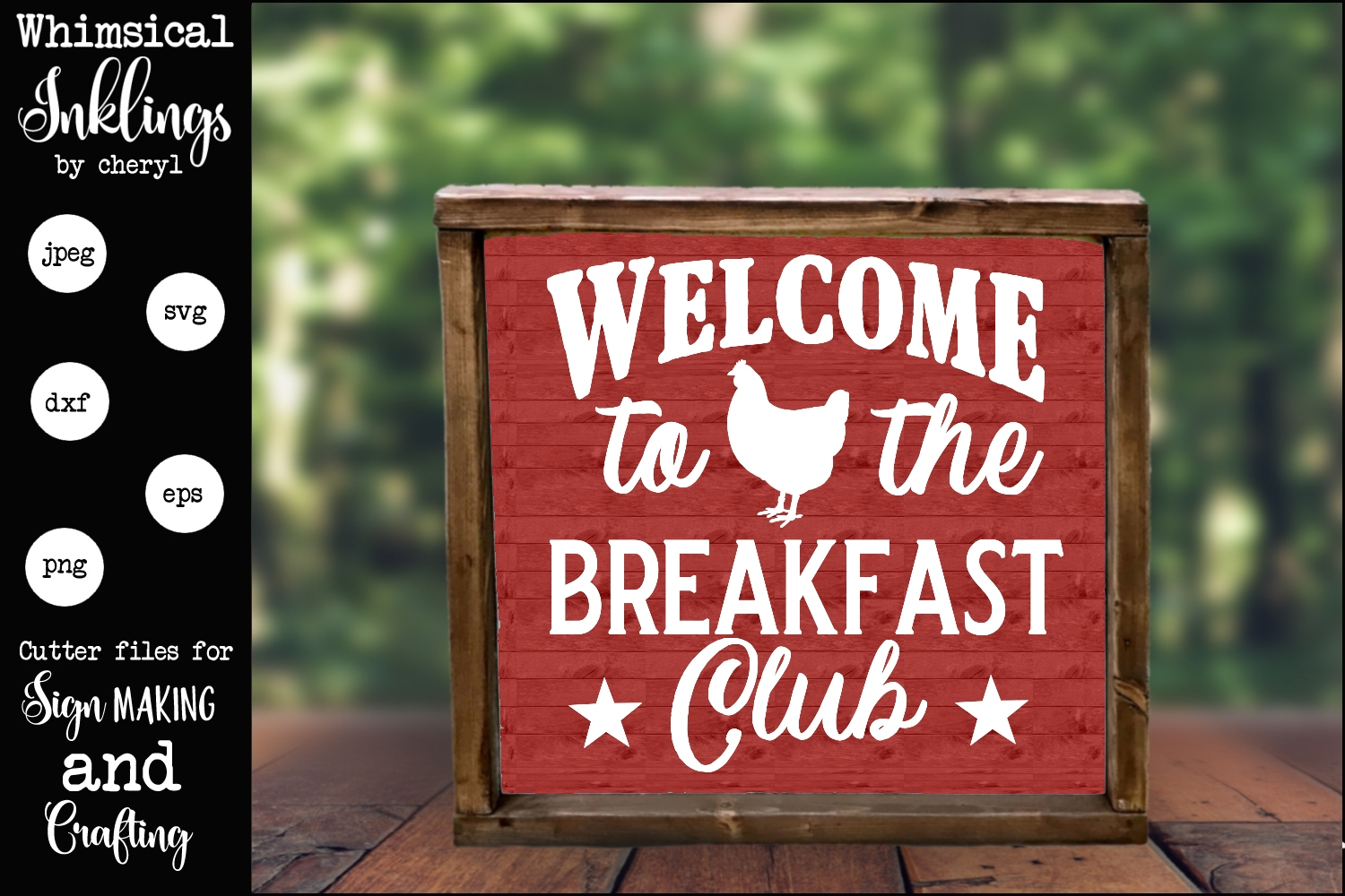 Breakfast Club SVG example image 1