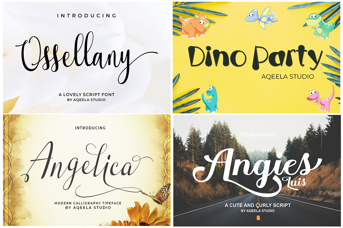 FONT BUNDLE COLLECTION example image 6