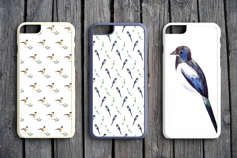 Watercolor Birds example image 6