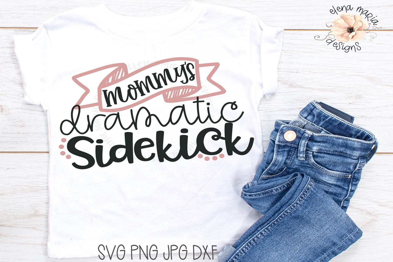 Kids Humor Svg | Dramatic Toddler | Mom Svg Cut File example image 1