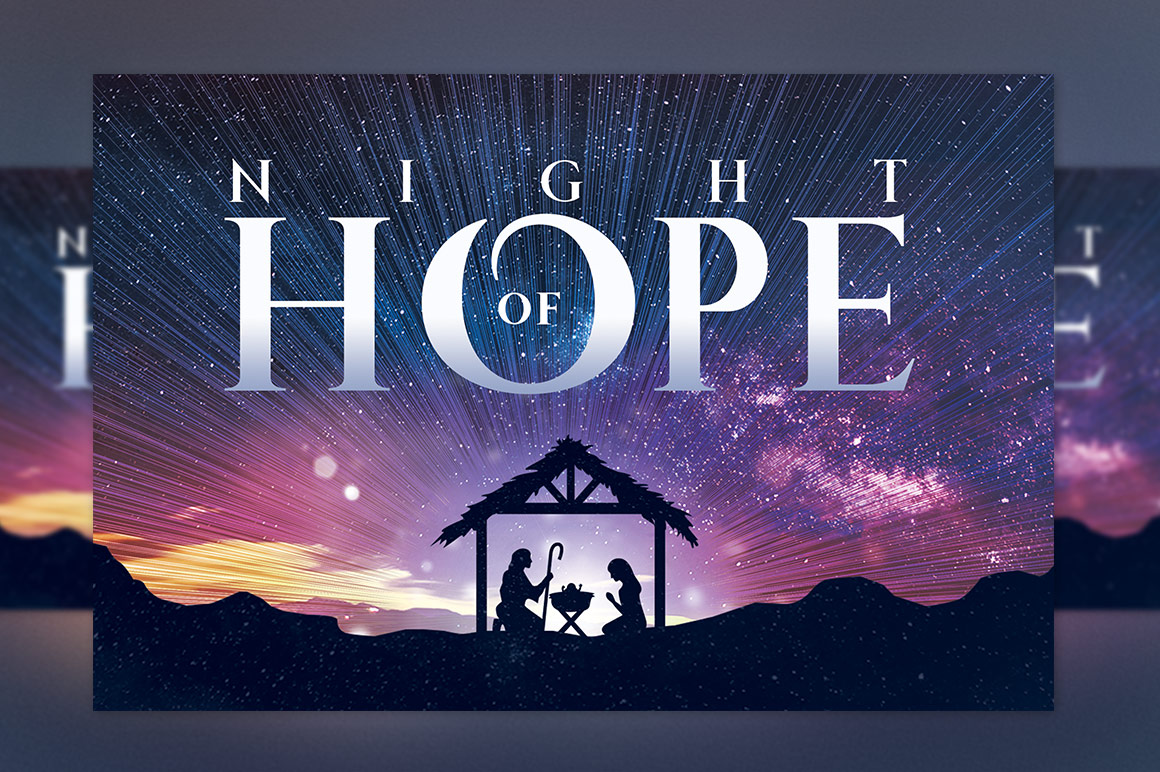Christmas Hope Cantata Flyer Template example image 5