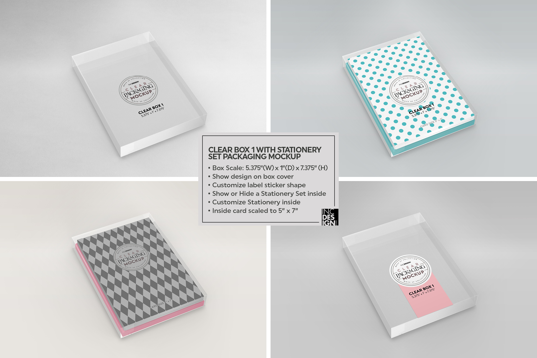 VOL.7 Clear Packaging Mockup Collection example image 11